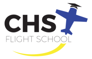CHS Flight School logo